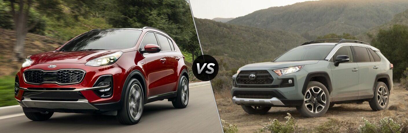 2022 Kia Sportage vs 2021 Toyota RAV 4