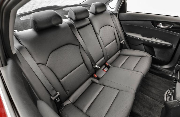 rear seat view of the 2021 Kia Forte