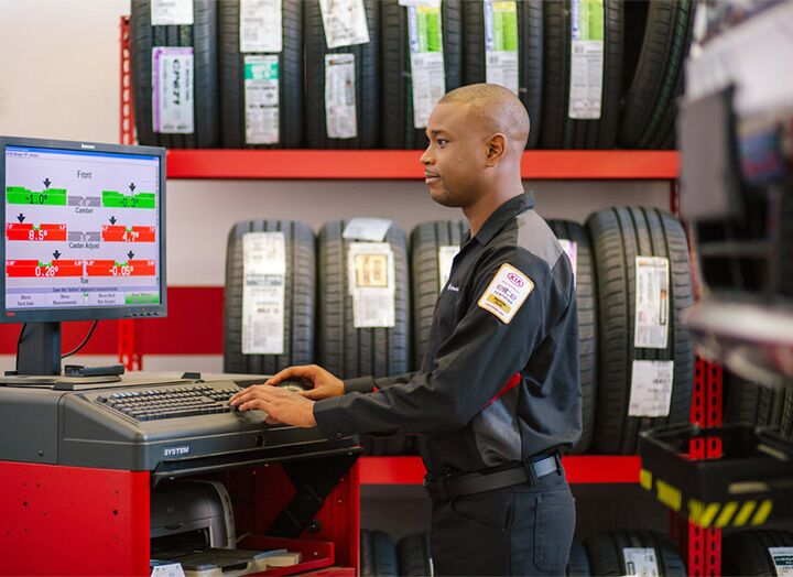 Buy your tires from the Kia experts