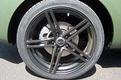 Kia Soul with Black MSR Wheels