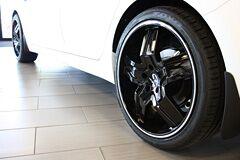Kia Optima with Lorenzo WL30 Wheels in Black