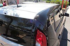 Custom 2 Tone gray black wrap on new 2013 Kia Soul