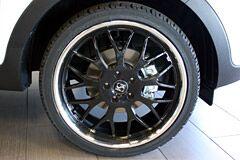 20 inch black Giovanni wheels