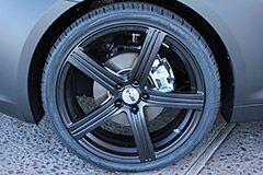 Kia Optima with 20 inch Black MSR 052 Wheels