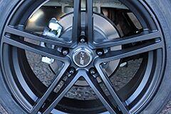 Kia Soul with Matte Black MSR wheels