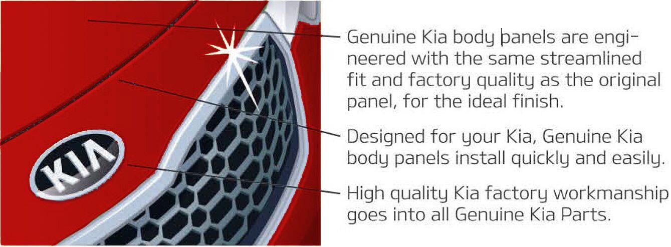 Genuine Kia Body Panels