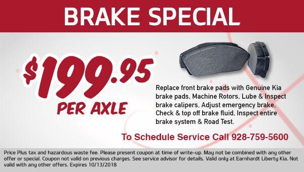 Save on Brakes in Prescott Valley