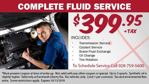 Complete Fluid Service Coupon