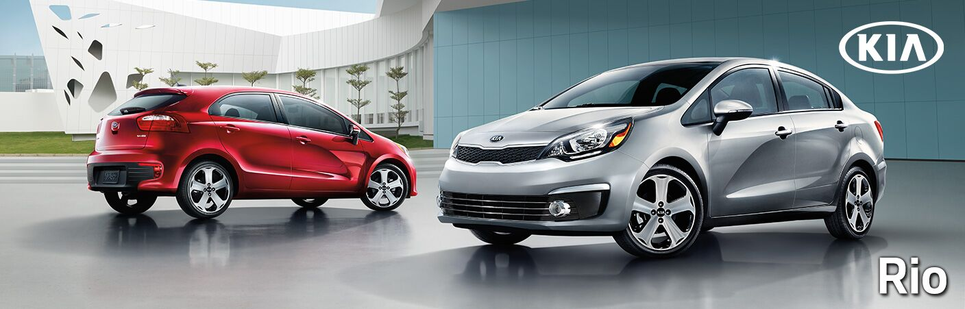 New Kia Rio at Earnhardt Liberty Kia