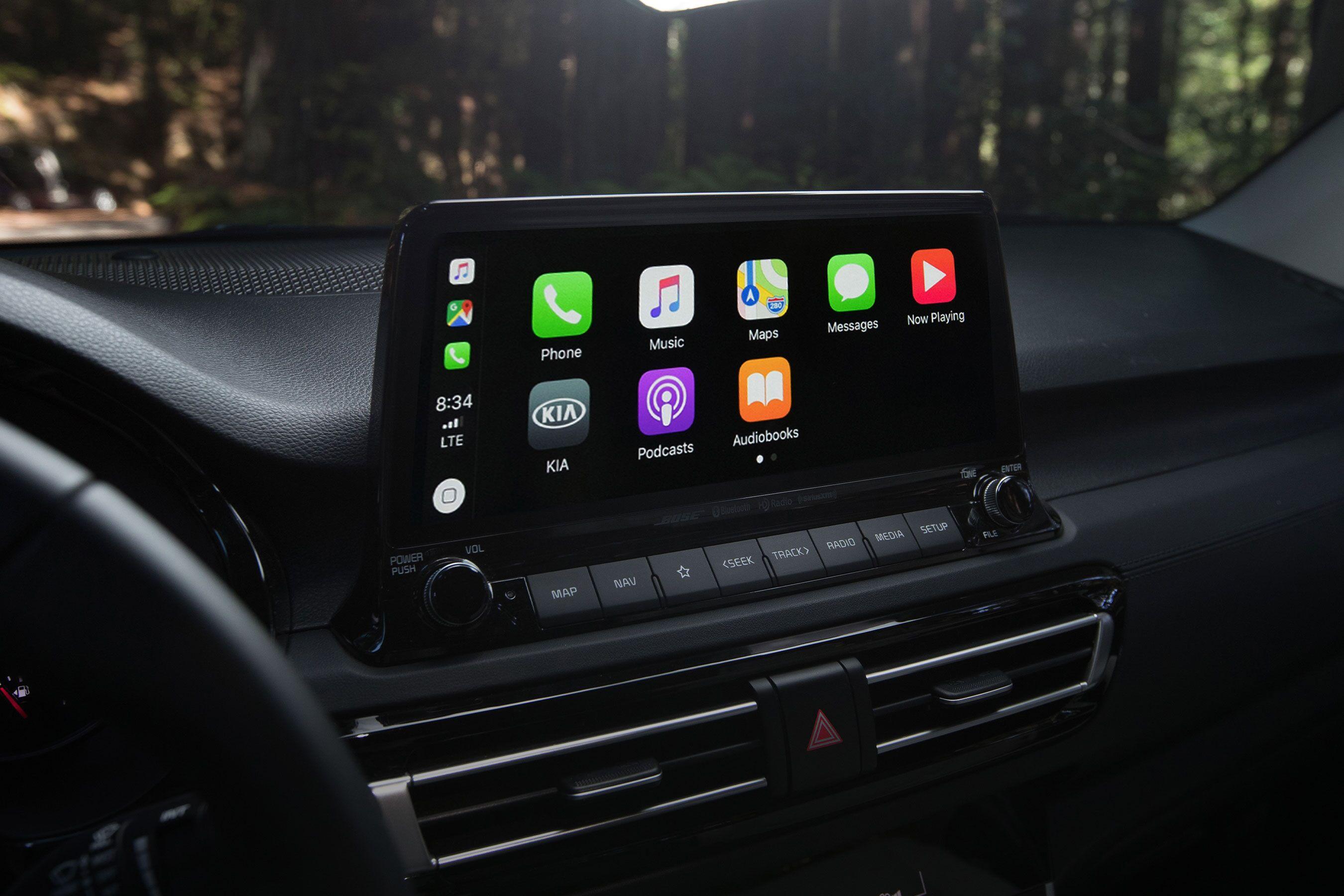 2021 Kia Seltos 10.25-inch Touchscreen