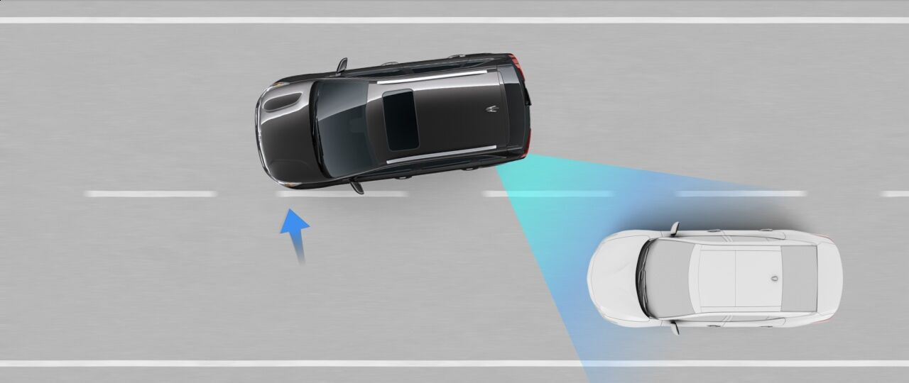 2021 Kia Seltos Blind-Spot Collision Avoidance Assist-Rear (BCA-R)