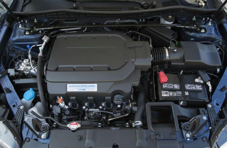 2017 Honda Accord Coupe Engine Bay