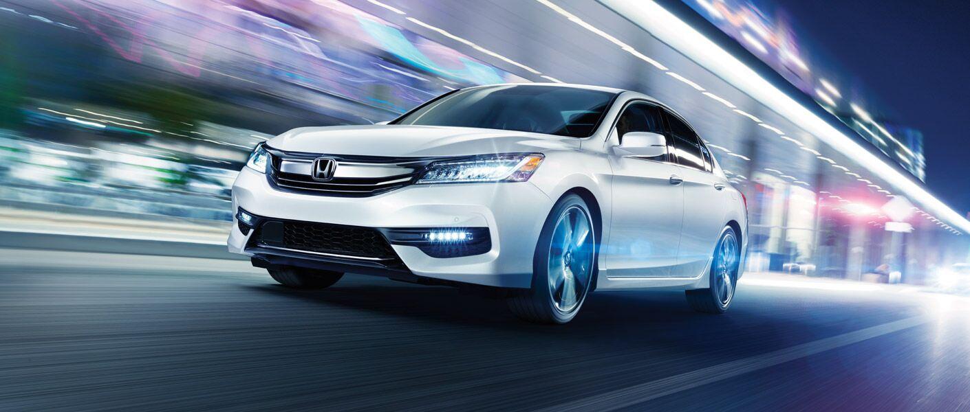 2017 Honda Accord Sedan aerodynamic design