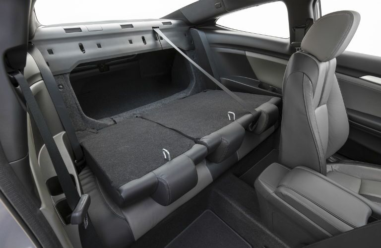 2017 Honda Civic Coupe Interior Cabin Rear Seat