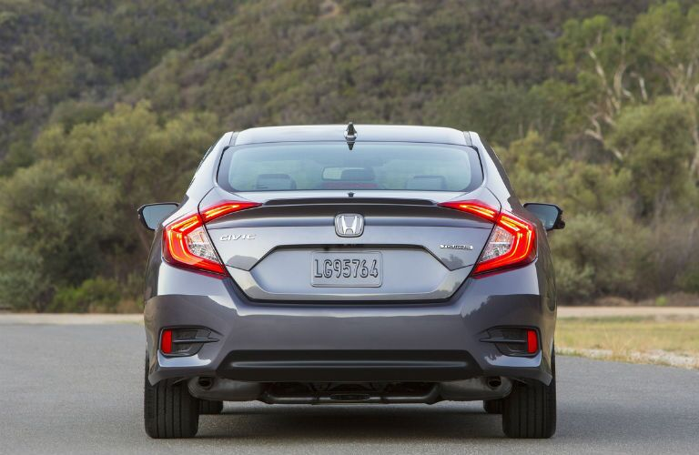 2017 Honda Civic Sedan Exterior Rear Fascia