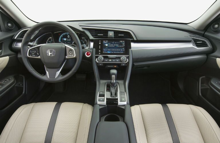 2017 Honda Civic Sedan Interior Cabin Dashboard