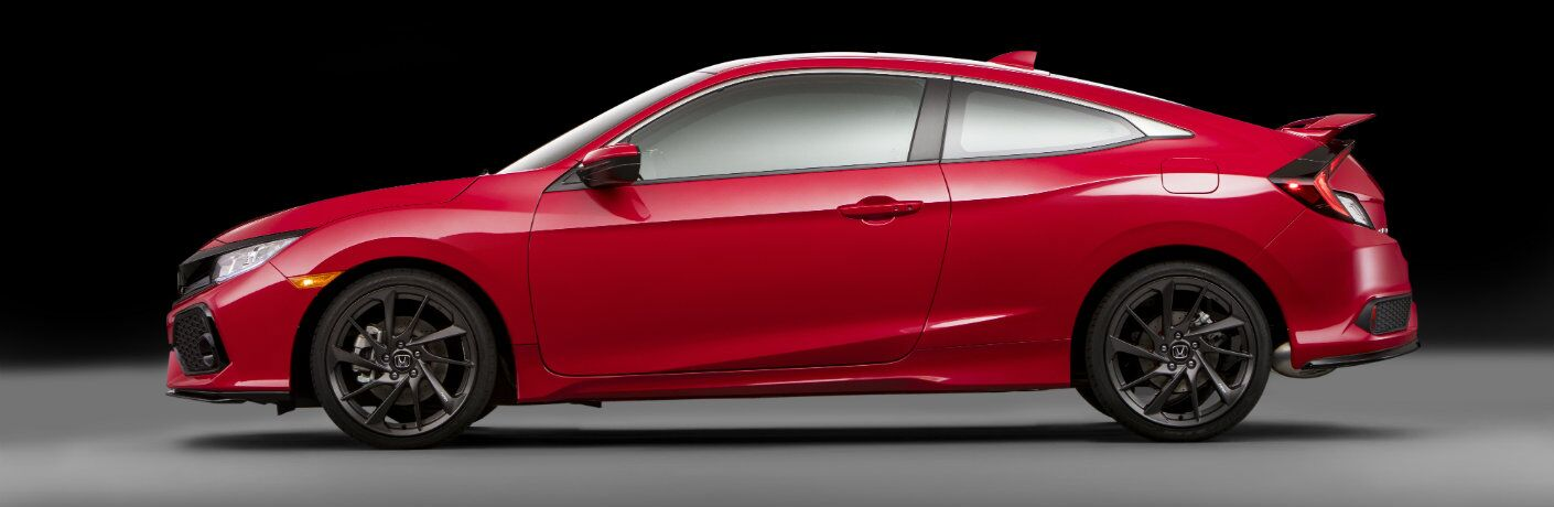2017 Honda Civic Si prototype color option