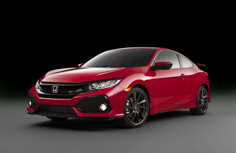 2017 Honda Civic Si prototype aerodynamic design