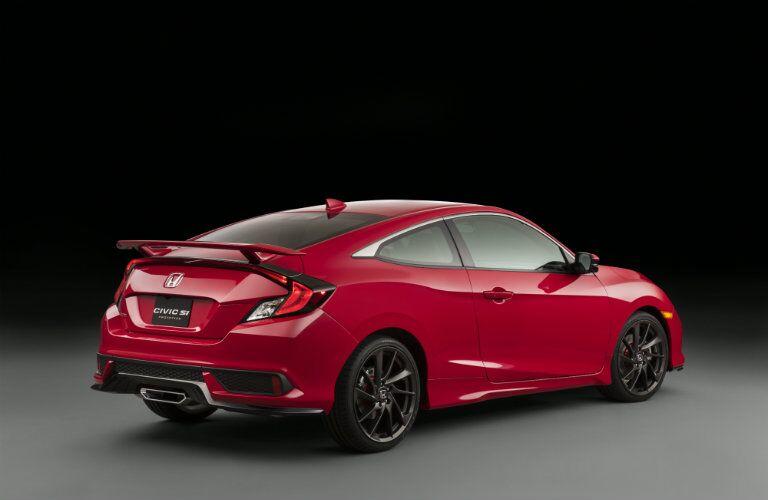 2017 Honda Civic Si prototype spoiler