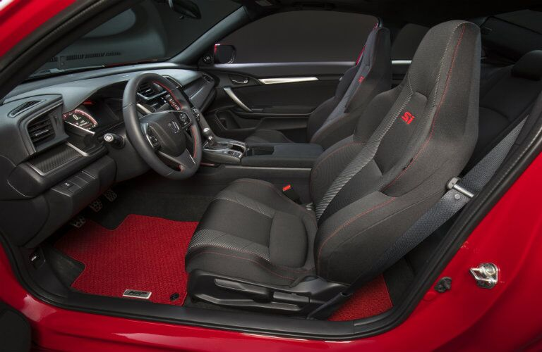 2017 Honda Civic Si prototype cabin space