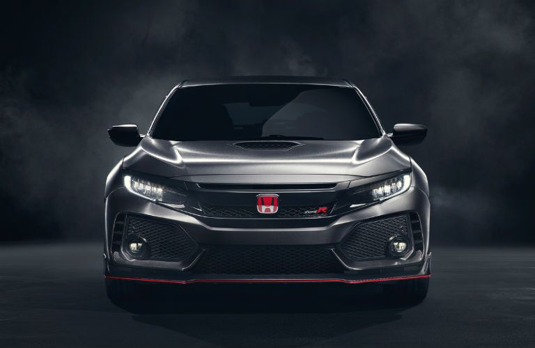 2017 Honda Civic Type R Prototype Exterior Front Fascia