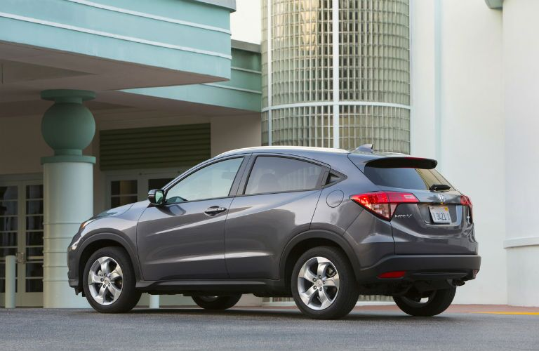 2017 Honda HR-V Exterior Rear Profile