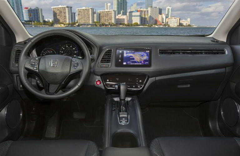 2017 Honda HR-V Interior Cabin Dashboard