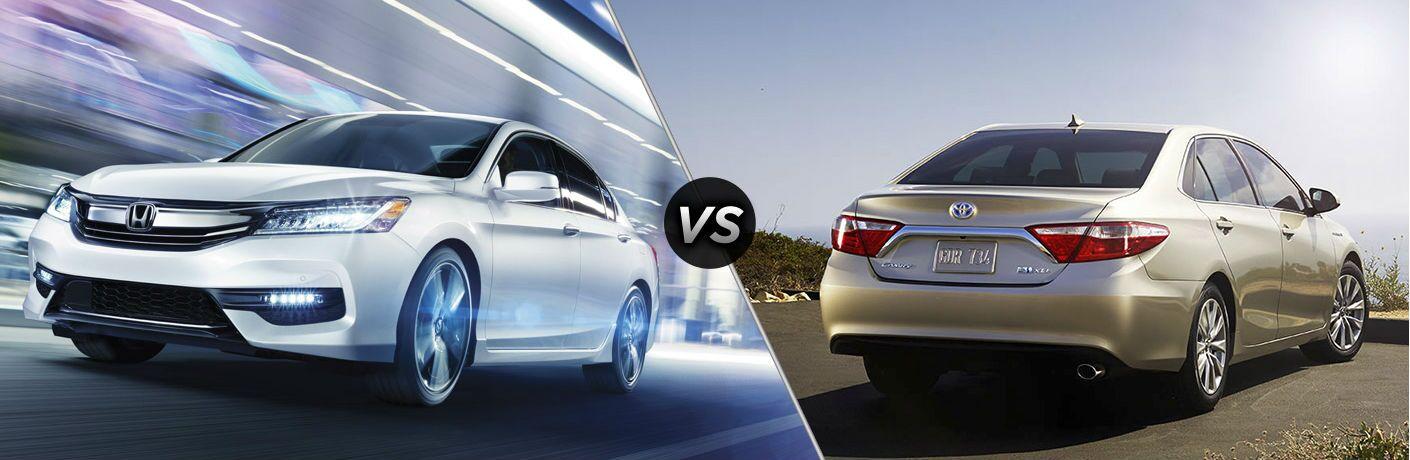 Image Result For Honda Accord Vs Toyota Camrya