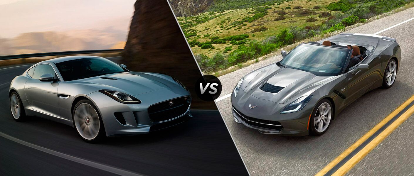 2015 Jaguar F-TYPE vs 2015 Chevy Corvette Stingray