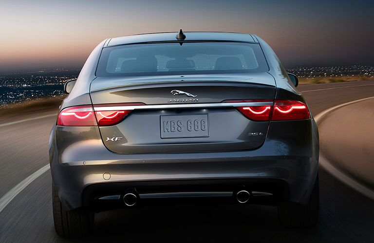 2016 Jaguar XF Kansas City rear view