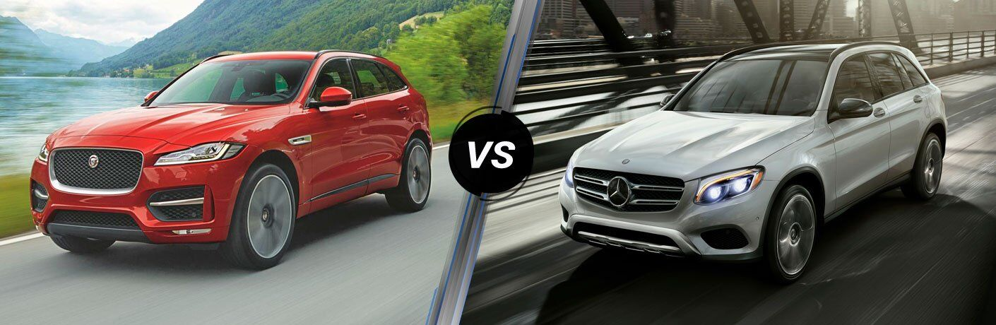 2017 Jaguar F-PACE vs 2017 Mercedes-Benz GLC