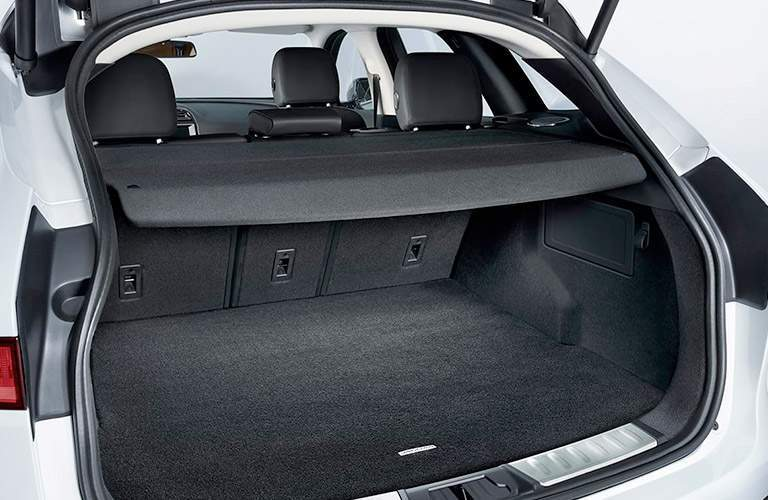 versatile rear cargo area of the 2018 Jaguar F-PACE