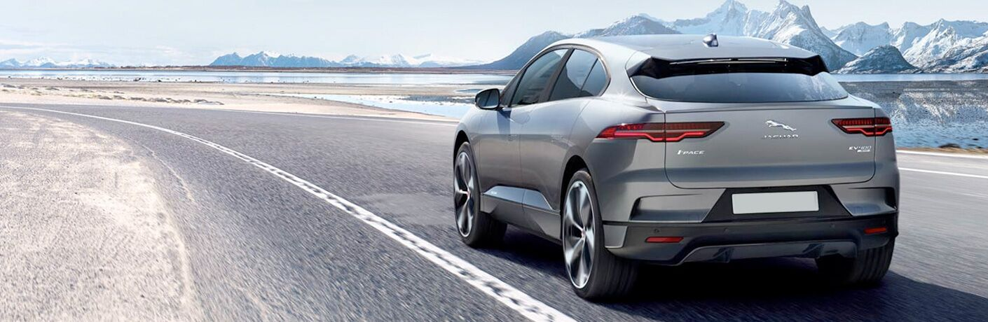 rear view of the 2019 Jaguar I-PACE