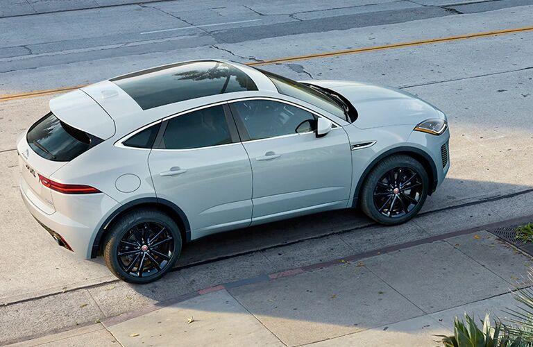 2020 Jaguar E-PACE parked along streetside