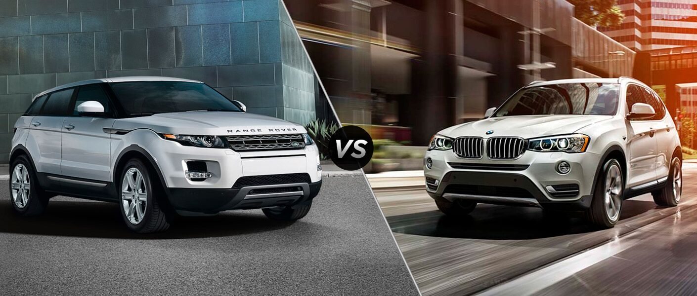 range rover evoque vs bmw x3. Black Bedroom Furniture Sets. Home Design Ideas