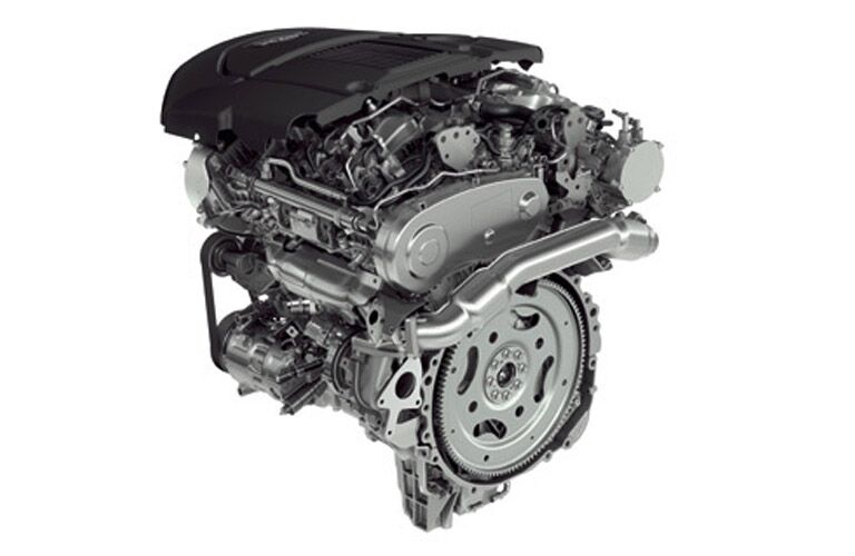 2016 Land Rover Diesel Engines engine picture