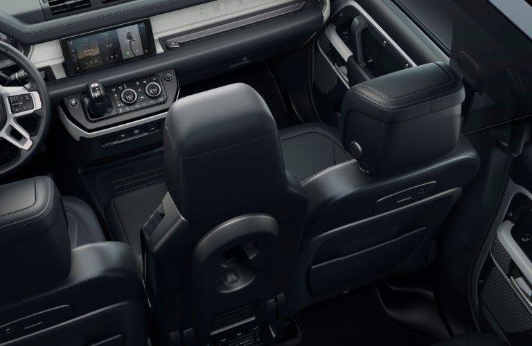 2020 Land Rover Defender interior front seats