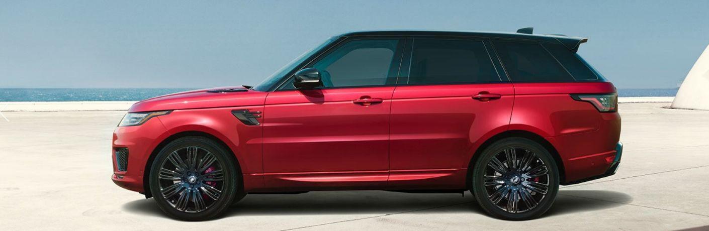 2020 Range Rover Sport side profile view