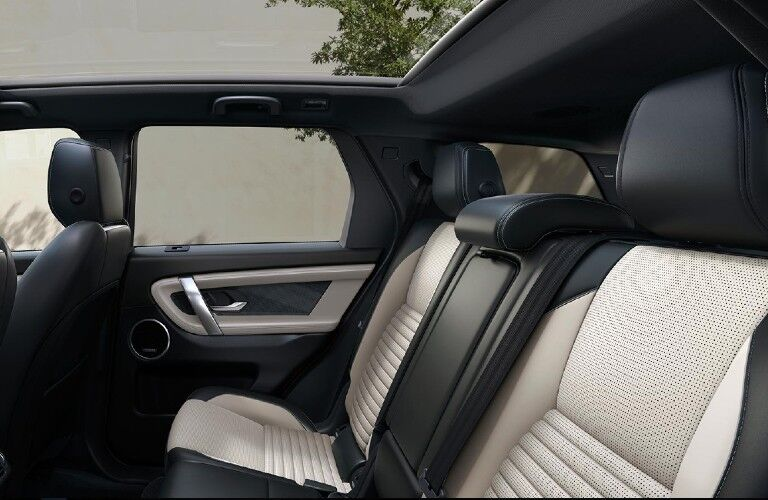 2021 Land Rover Discovery Sport leather seating