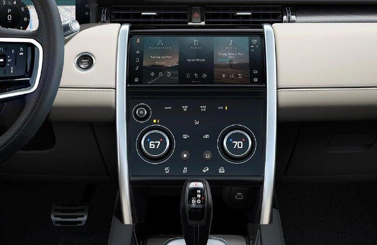 2021 Land Rover Discovery Sport center touchscreen