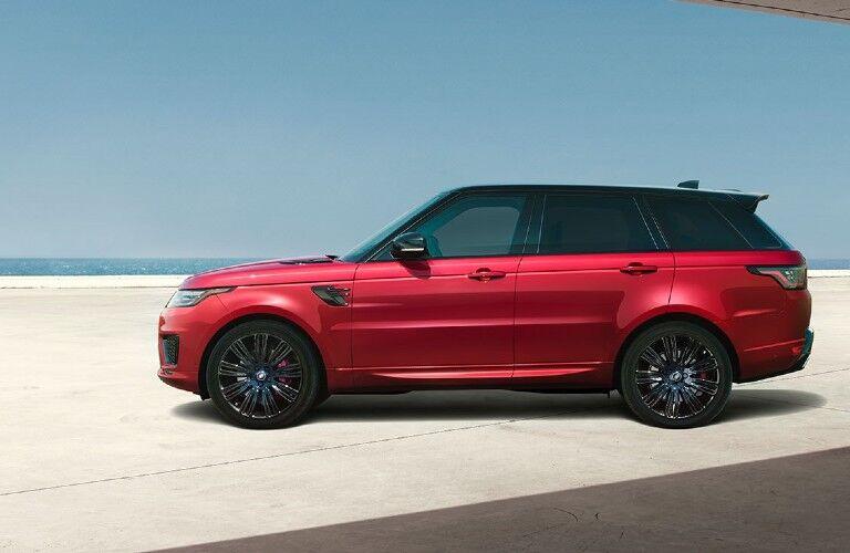 2021 Range Rover Sport side profile view