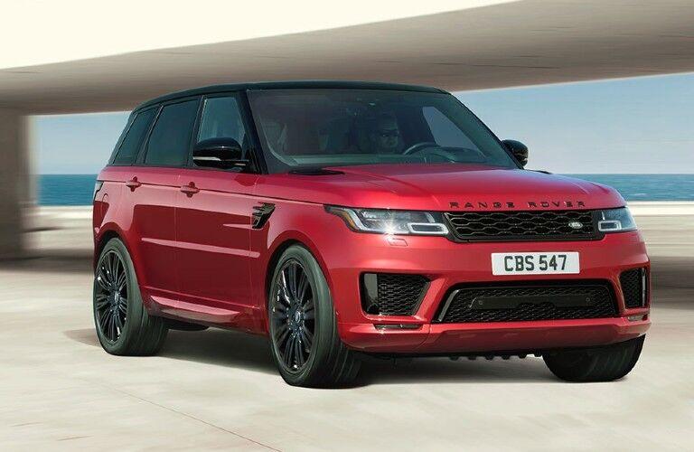 2021 Range Rover Sport exterior styling