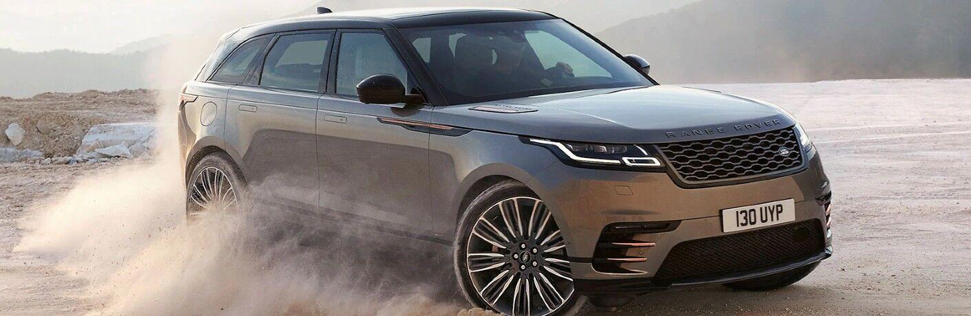 2021 Range Rover Velar on desert terrain