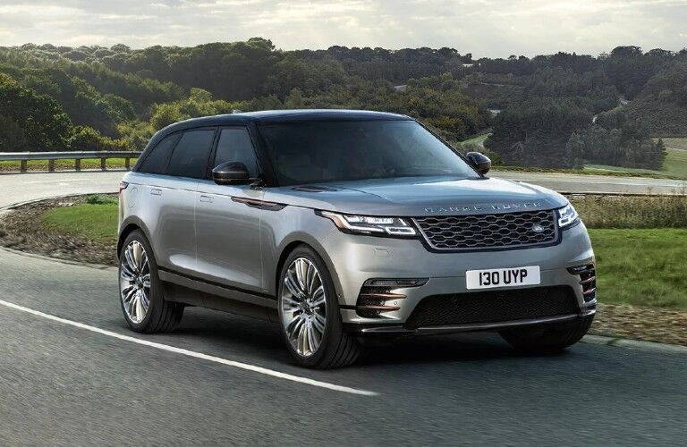 2021 Range Rover Velar on winding country road