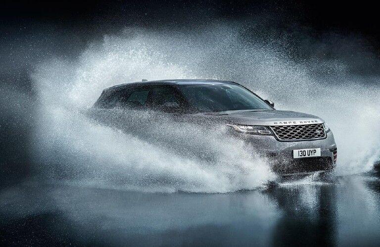 2021 Range Rover Velar fording water