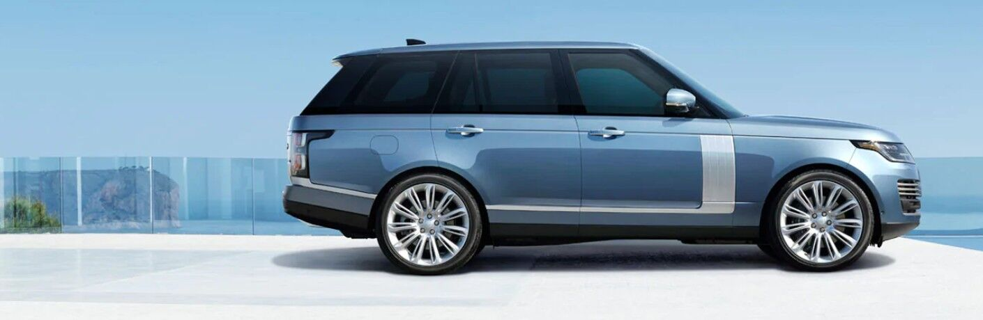 2021 Range Rover by scenic overlook