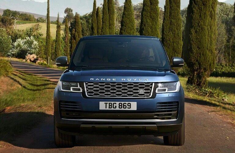 2021 Range Rover front fascia