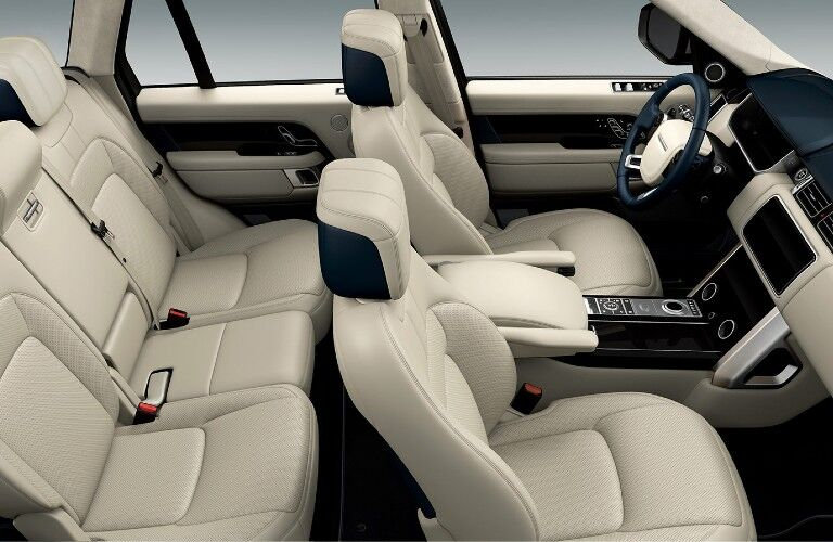2021 Range Rover interior styling