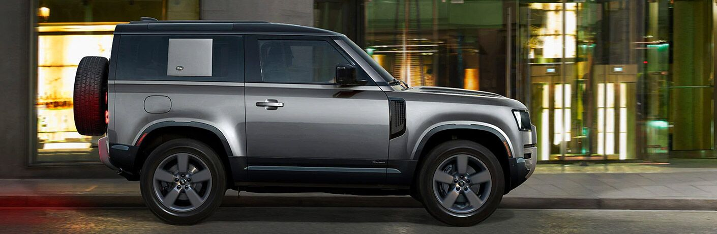 2022 Land Rover Defender 110 side view