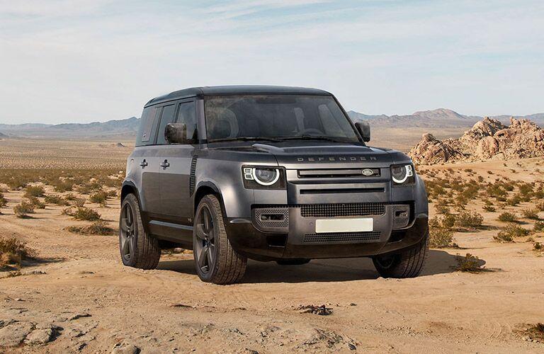 2022 Land Rover Defender 110 in desert